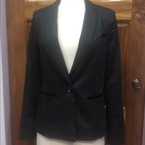Guess Shimmer Tuxedo Style Jacket